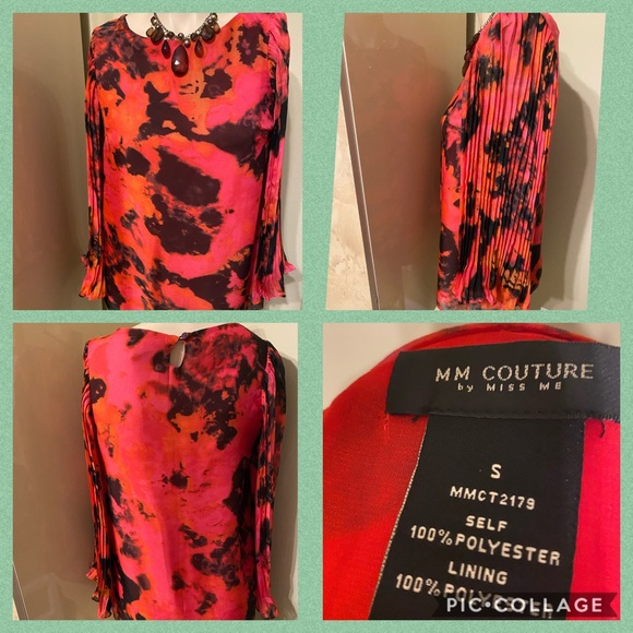 🌷MM COUTURE BLOUSE SIZE S- WORN ONCE🌷